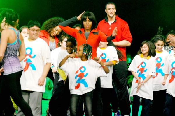 First Lady Michelle Obama unveils new school progam