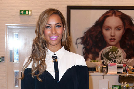 Leona Lewis is announced as the new brand activist for The Body Shop