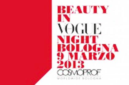 Photo of La notte della bellezza e della moda, ideata da Vogue Italia, il 9 marzo al Cosmoprof di Bologna