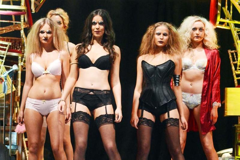 Vodafone DIT Fashion Show 2013 at Vicar Street