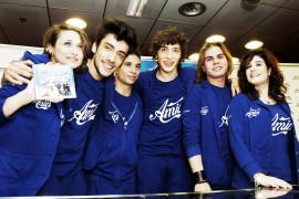 Antonio, Andrea, Costanzo, Verdiana, Edwyn, Ylenia