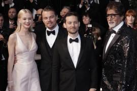 Catherine Martin, Amitabh Bachchan, Carey Mulligan, Baz Luhrmann, Leonardo DiCaprio
