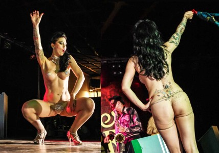 BURLESQUE DE LUX @ SUMMER JAMBOREE 2013 DAY 7 - Senigallia (IT)