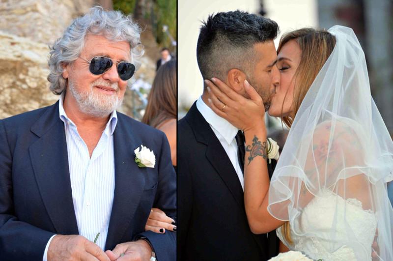 22/09/2013 Matrimonio figliastra Beppe Grillo Zoagli