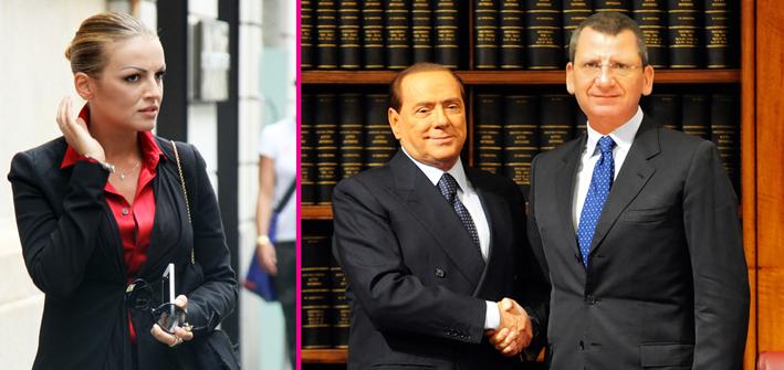 Angelino Alfano, Silvio Berlusconi